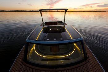 beglazing voor op een boot